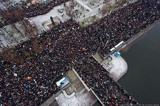Митинг на Болотной площади против фальсификации выборов в России