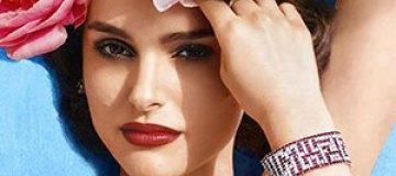 Натали Портман в цветах украсила обложку глянца