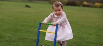 Принцесса Шарлотта отмечает первый день рождения