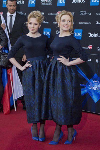 Сестры Толмачевы - представительницы от России