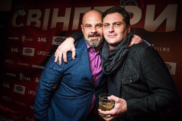 Михаил Кукуюк и Вячеслав Довженко