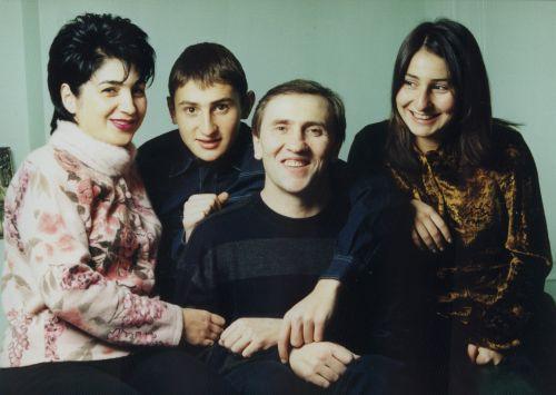 Черновецкие с детьми Кристиной и Степаном
