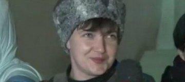 Надежда Савченко удивила шапкой и свиткой в гетманском стиле
