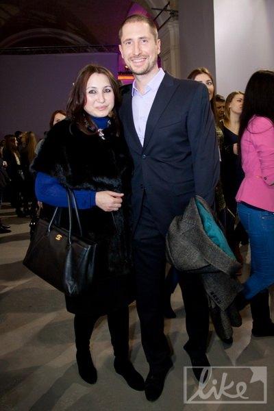 Олимпийский чемпион Денис Силантьев с женой Инной
