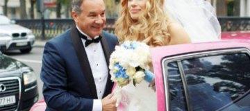 Французский украинец Мишель Терещенко обвенчался с молодой невестой во Владимирском соборе
