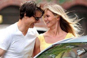 Том Круз развлекается с Камерон Диас
