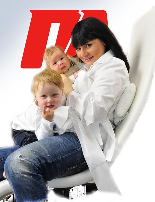 Ирэна Кильчицкая с Моникой и Марком