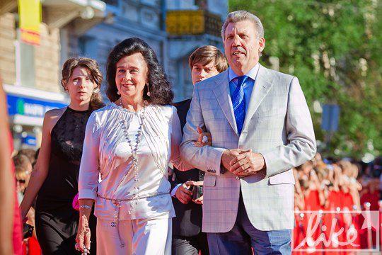 Сергей Кивалов с супругой Натальей Киваловой