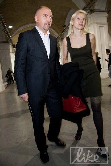 Генеральный директор компании Star LightMedia Александр Богуцкий с женой, народным депутатом Еленой Кондратюк