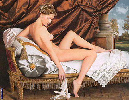 Первая любовь Николай - женщина видная