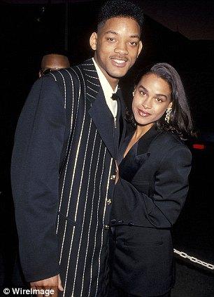 1995 год. Уилл с первой женой