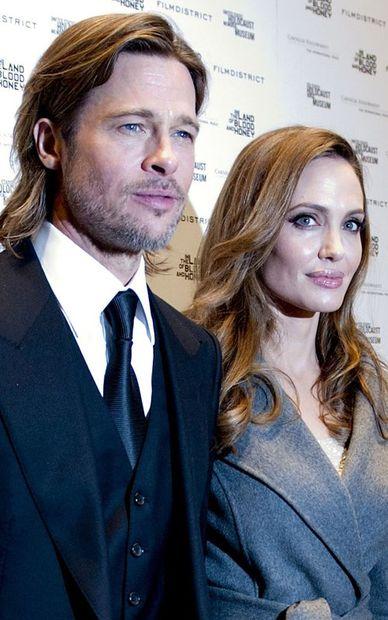 Анджелина Джоли и Брэд Питт побывали у Барака обамы