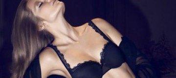 Энико Михалик снялась для рекламы белья Chantelle