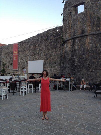 Эрика на отдыхе в Черногории