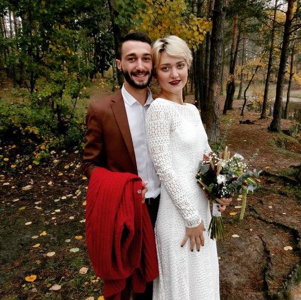 Роман Дуда и Вера Кекелия поженились