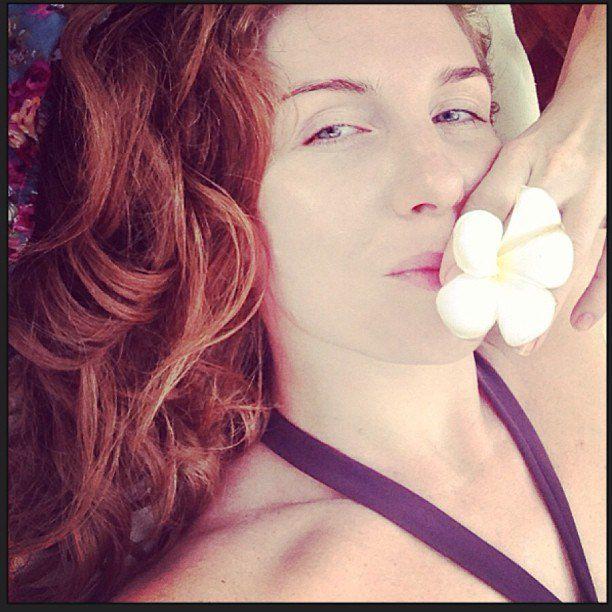 Анастасия Богословская публикует фото с отдыха