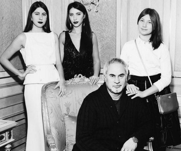 Валерий Меладзе с повзрослевшими дочками