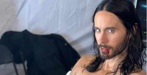 Джаред Лето поделился кадрами из фильма о вампире