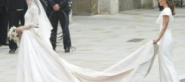 Букингемский дворец заработал $8 млн на платье Кейт Миддлтон