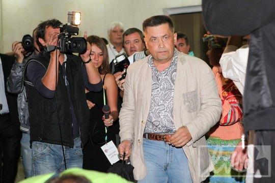 Николай Расторгуев пришел на концерт с рюкзаком
