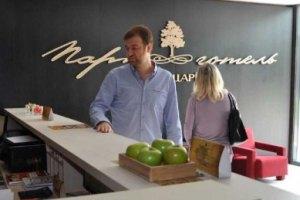 Зять Ющенко открыл под Ровно отель с прозрачными туалетами