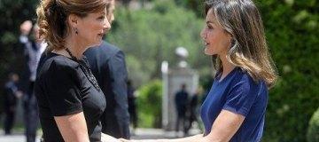В сети отметили сходство между Мариной Порошенко и королевой Испании