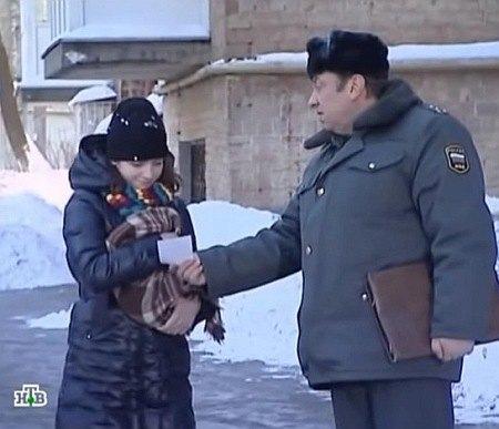 """Женя Порошенко в фильме """"Возвращение Мухтара"""""""