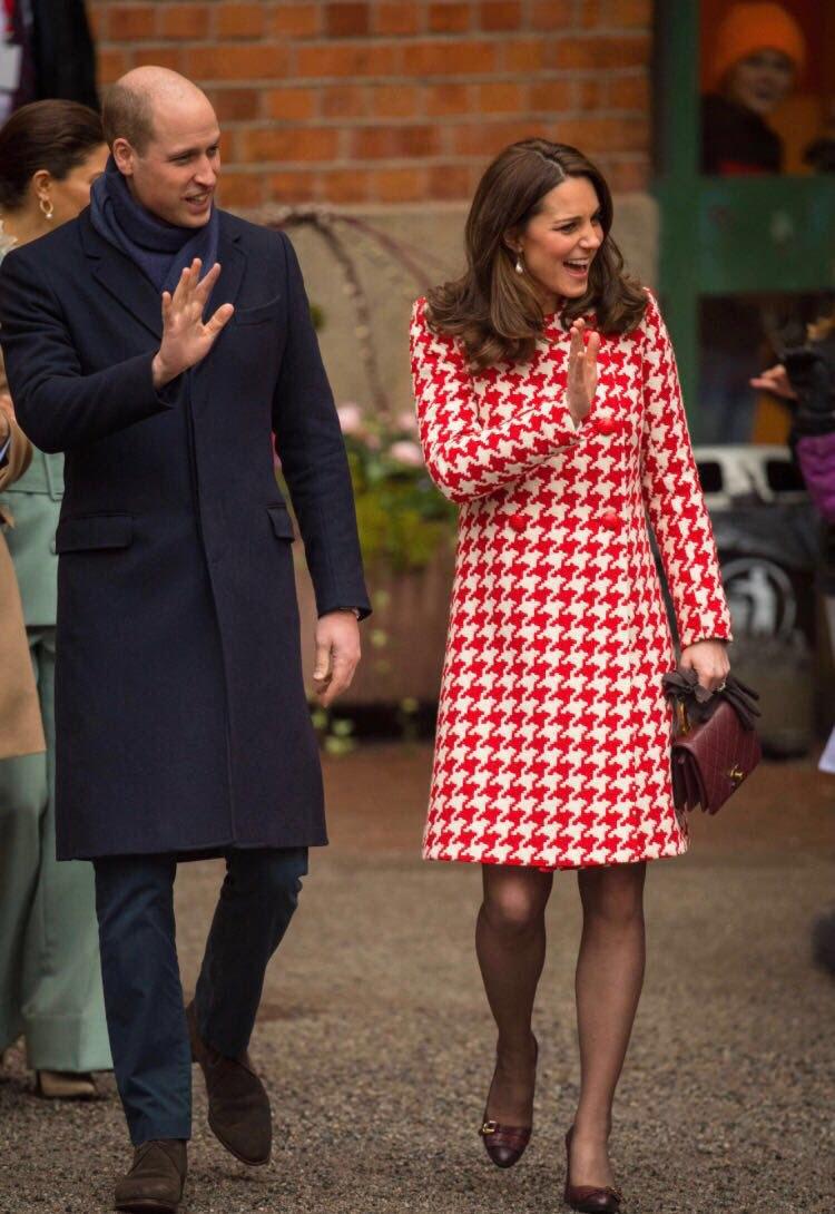 Герцог и герцогиня Кембриджские в Швеции