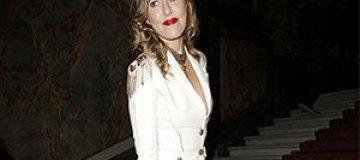 Собчак перепутали с Джиллиан Андерсон на Неделе моды в Париже