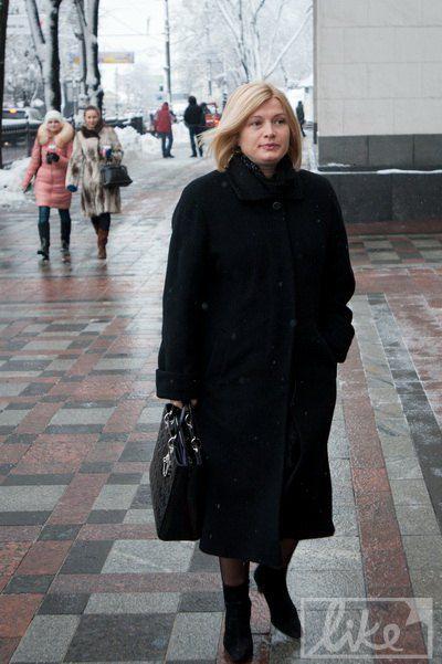 Ирина Геращенко выбрала Dior