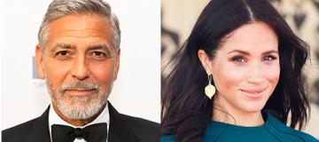 Джордж Клуни заступился за Меган Маркл и сравнил ее с принцессой Дианой