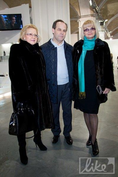 Телеведущая Светлана Леонтьева (справа) с мужем