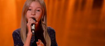 12-летняя победительница украинского телешоу до слез растрогала голливудскую актрису