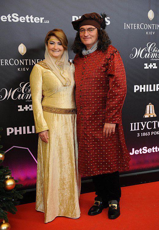 Ирина Данилевская и Владимир Нечипорук
