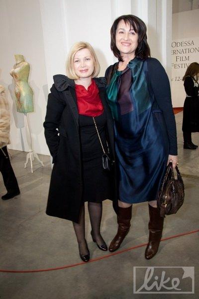 Ирина Геращенко и Ольга Герасимьюк
