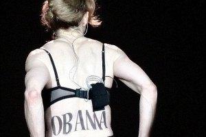 Мадонну освистали на концерте за поддержку Обамы