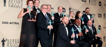 В США вручила премии Гильдия киноактеров. Обошлось без сюрпризов.