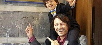 Притула уверен, что его сын - новое поколение украинцев