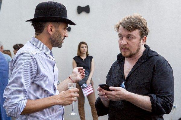 Валерий Топал и Алексей Залевский