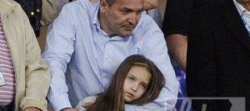 Пинчуки впервые показали девятилетнюю дочь