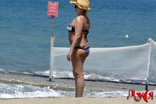 Ирина Билык на острове Крит