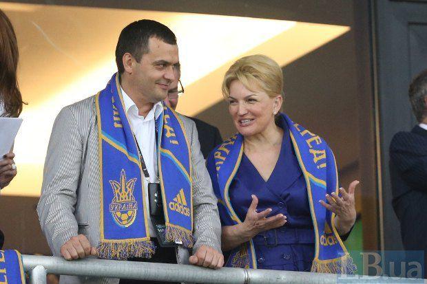 Глава МВД Виталий Захарченко и министр здравоохранения Раиса Богатырева