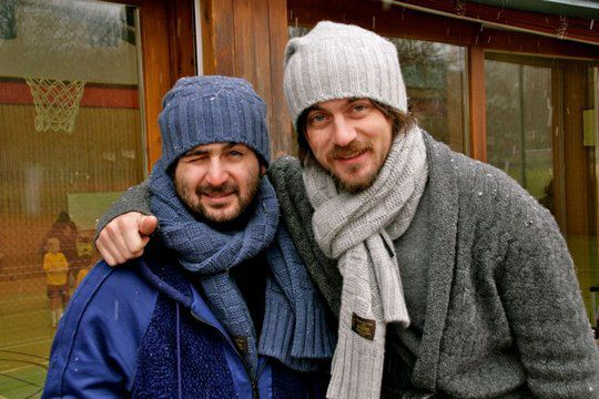 """Слева тот самый друг Денис Адлейба, что """"запалил"""" покупку Артема"""