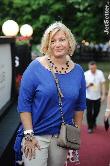 Вице-спикер украинского парламента Ирина Геращенко