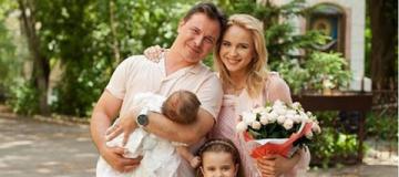 Лилия Ребрик окрестила новорожденную дочку