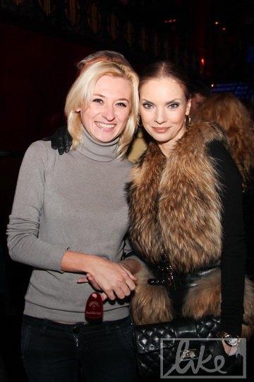 Наталья Окунская (справа)