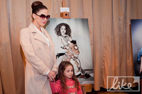 Экс-Nikita Юлия Кавтарадзе с дочерью Маргаритой