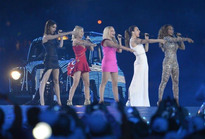 Spice Girls на Олимпийских играх в 2012 году
