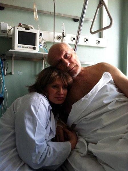 Александр Пороховщиков с супругой Ириной