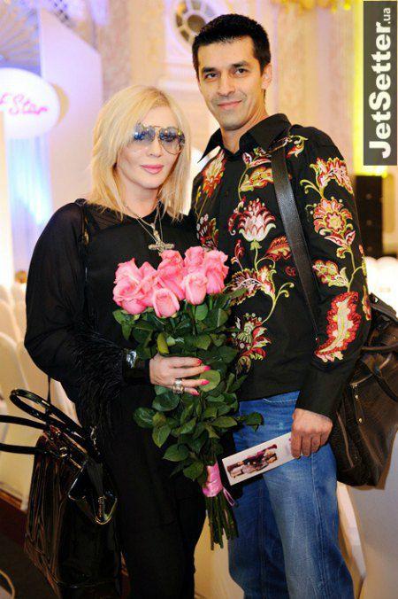 Ирина Билык с экс-супругом Андреем Оверчуком в 2012 году